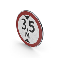 Traffic Sign Height Limit PNG & PSD Images