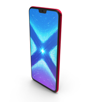 Honor 8X Red PNG & PSD Images