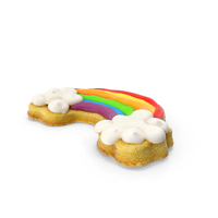 Rainbow Cookie PNG & PSD Images