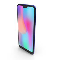 Honor 10 Blue PNG & PSD Images