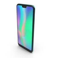 Honor 10 Green PNG & PSD Images
