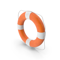 LifeBuoy With A Rope PNG & PSD Images