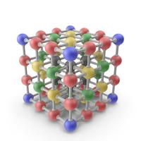 3D Molecule Structure PNG & PSD Images