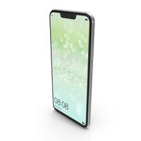 Huawei Nova 3i (P Smart+) White PNG & PSD Images