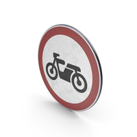 Traffic Sign No Motor Cycles PNG & PSD Images