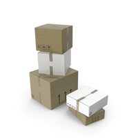 Cardboard Boxes PNG & PSD Images