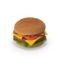 Cartoon Burger PNG & PSD Images