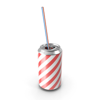 Cartoon Can of Soda PNG & PSD Images