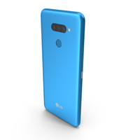 LG K50S New Moroccan Blue PNG & PSD Images