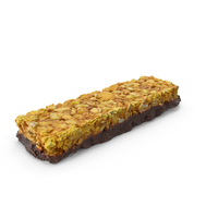 Cereal Bar with Chocolate and Orange PNG & PSD Images