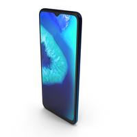 Motorola Moto G8 Power Lite Royal Blue PNG & PSD Images
