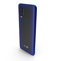Motorola One Vision Sapphire Gradient PNG & PSD Images