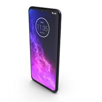Motorola One Zoom Cosmic Purple PNG & PSD Images