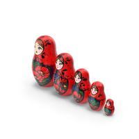 Matryoshka Doll PNG & PSD Images