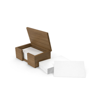 Business Cards In Box PNG & PSD Images