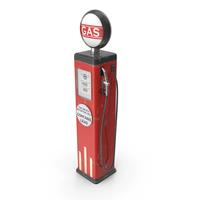 Vintage Gas Pump PNG & PSD Images
