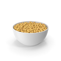 Ceramic Bowl With Peas PNG & PSD Images