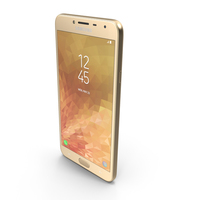Samsung Galaxy J4 2018 Gold PNG & PSD Images
