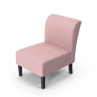 Accent Chair Pink PNG & PSD Images