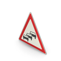Road Sign Traffic Queues Likely PNG & PSD Images