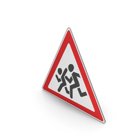 Road Sign Watch For Children PNG & PSD Images