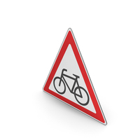 Road Sign Watch For Cyclists PNG & PSD Images