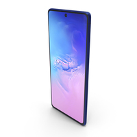 Samsung Galaxy S10 Lite Prism Blue PNG & PSD Images