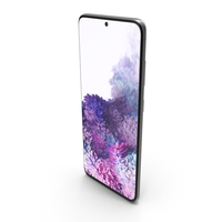Samsung Galaxy S20 (5G) Cosmic Gray PNG & PSD Images