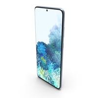 Samsung Galaxy S20 Plus (5G) Cloud Blue PNG & PSD Images