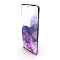 Samsung Galaxy S20 Plus (5G) Cosmic Gray PNG & PSD Images