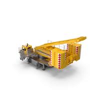 Crane LR 1600 Base Yellow PNG & PSD Images