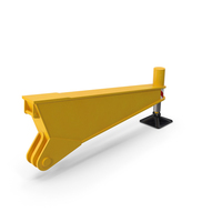 Crane Outrigger Yellow PNG & PSD Images