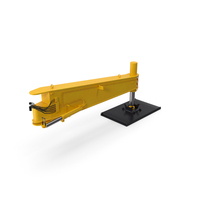 Crane Outrigger Large Yellow PNG & PSD Images