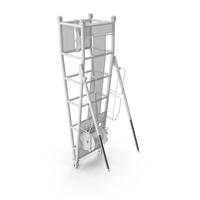 Crane Pivot Section 9.5 White PNG & PSD Images