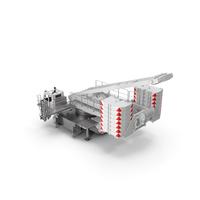 Crane LR 1600 Base White PNG & PSD Images