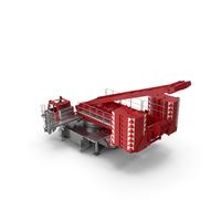 Crane LR 1600 Base Red PNG & PSD Images