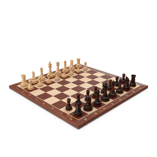 Wooden Chess Set PNG & PSD Images
