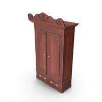Antique Wardrobe PNG & PSD Images