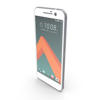 HTC 10 Glacier Silver PNG & PSD Images
