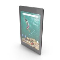 HTC Google Nexus 9 Indigo Black PNG & PSD Images