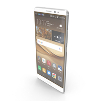 Huawei Mate 8 Moonlight Silver PNG & PSD Images
