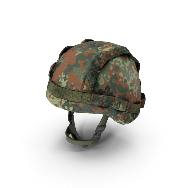Military Bundeswehr Helmet & Cover PNG & PSD Images