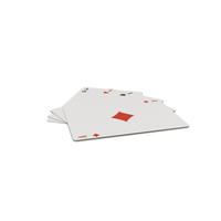 Set Of 4 Playing Cards PNG & PSD Images