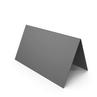 Black Desk Paper Banner PNG & PSD Images