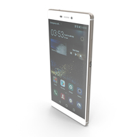 Huawei P8 Mystic Champagne PNG & PSD Images