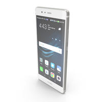 Huawei P9 Mystic Silver PNG & PSD Images