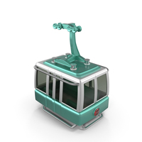 Cartoon Cable Car PNG & PSD Images