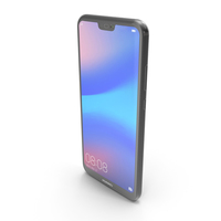 Huawei P20 Lite Midnight Black PNG & PSD Images