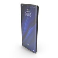 Huawei P30 Pro Black PNG & PSD Images