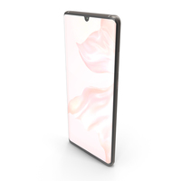 Huawei P30 Pro Pearl White PNG & PSD Images